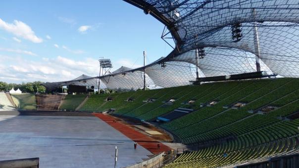 Munich - view of the stadium