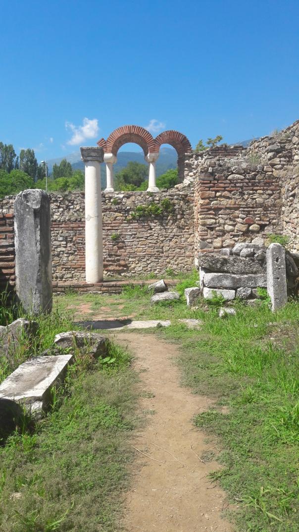 colonnes - heraclea lyncestis - bitola
