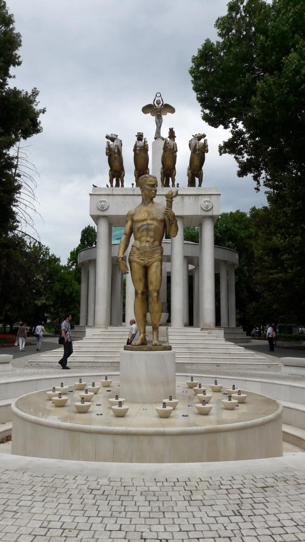 statues skopje - skopje - macedonia